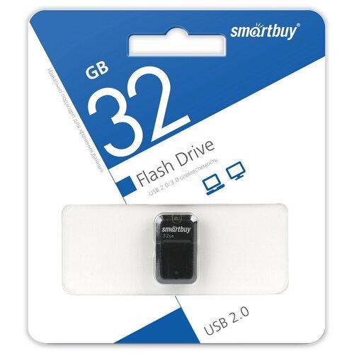 Фото - Флешка SmartBuy Art 32 GB, черный флешка smartbuy art 64 gb черный