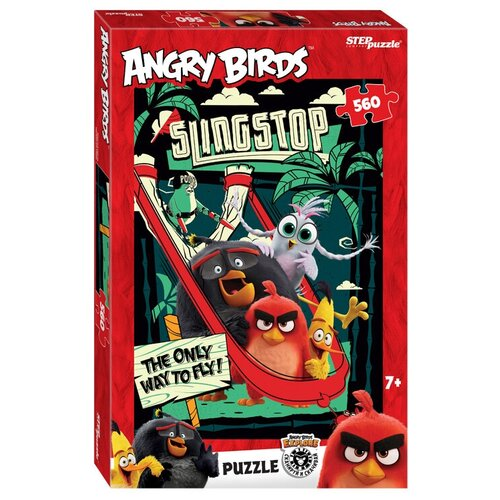 Пазл Step puzzle Angry Birds (97073), 560 дет. пазл step puzzle черепашки ниндзя 97070 560 дет