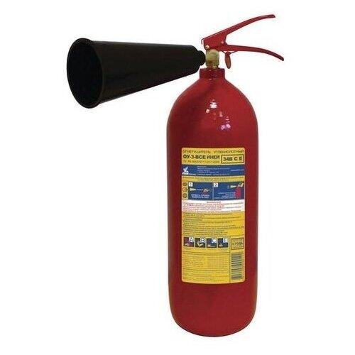 Углекислотный огнетушитель ИНЕЙ ОУ-3-ВСЕ (34В,С,Е)