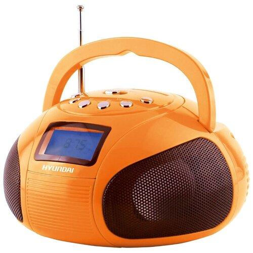 Магнитола Hyundai H-PAS100/H-PAS120 оранжевый