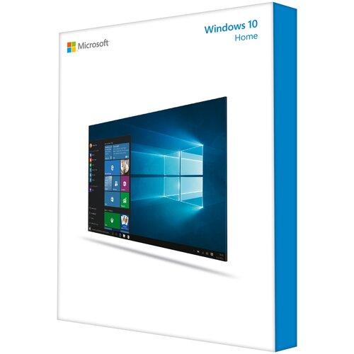 Microsoft Windows 10 Home 32-bit/64-bit, коробочная версия, русский, кол-во лицензий: 1, срок действия: бессрочная