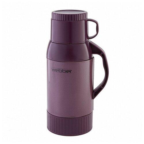 Классический термос Webber 22011, 1 л фиолетовый