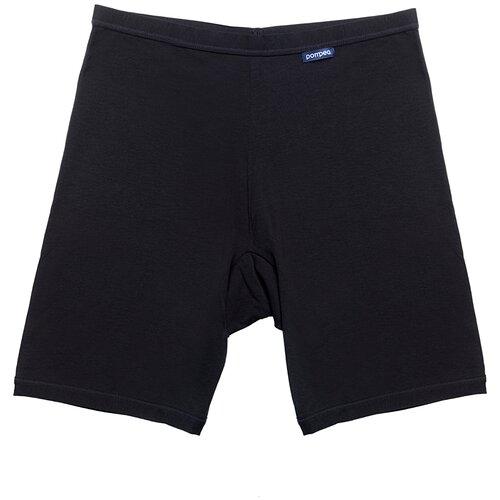 Pompea Трусы панталоны с высокой талией Ingrosso P1/28, размер 5XL (9), черный