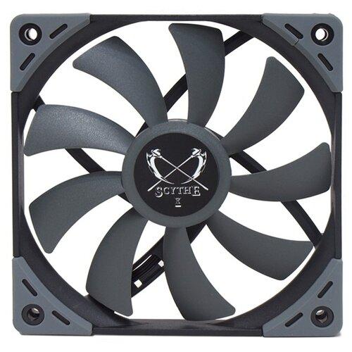 Вентилятор для корпуса Scythe Kaze Flex 120 Slim 1800rpm (KF1215FD18) серый 1 шт.