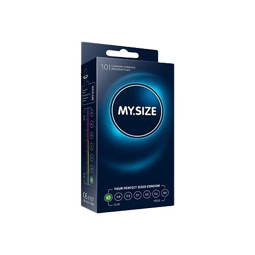 Презервативы MY.SIZE 47*160, 10 шт. презервативы r and j delicate 10 шт