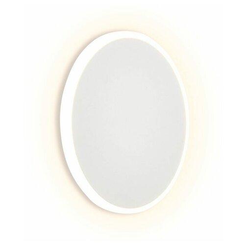 Фото - Настенный светильник Ambrella light FW103 WH/S белый/песок, 6 Вт настенный светильник ambrella light fa565 wh s белый песок 13 вт