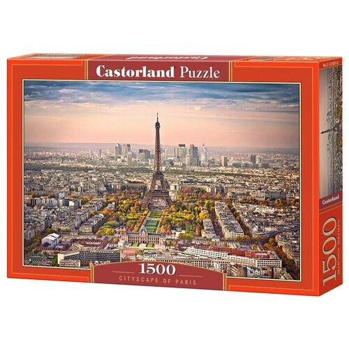 Пазл Castorland Вид Парижа (C-151837), 1500 дет. пазл castorland kittens play time c 151639 1500 дет