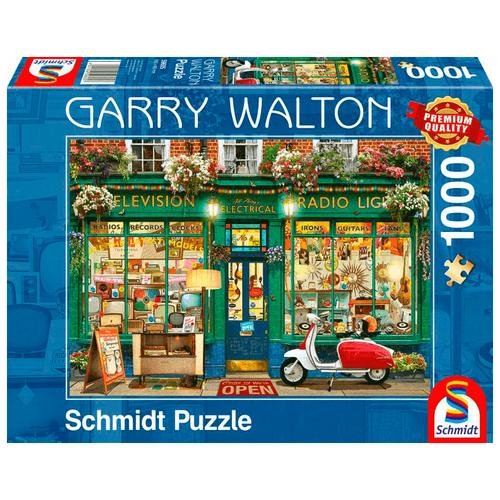 Пазл Schmidt Гарри Уолтон Магазин электроники (59605), 1000 дет.
