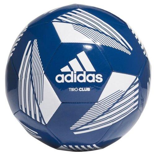 мяч футбольный adidas conext19 tcpt dn8636 белый желтый оранжевый размер 5 Мяч футбольный Adidas TIRO CLB NAVBLU/WHITE FS0365-5