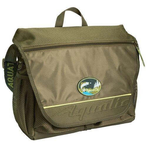 Сумка для рыбалки Aquatic CК-15 с 3 коробками 41х36х12 см зеленый