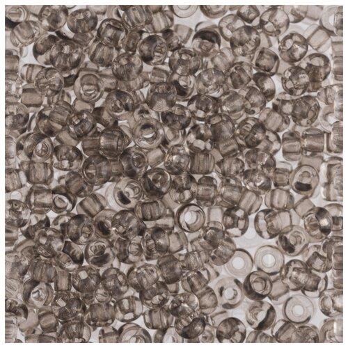 Купить Бисер круглый PRECIOSA 5, 10/0, 2, 3 мм, 500 г, (Ф334), темно-серый, Фурнитура для украшений