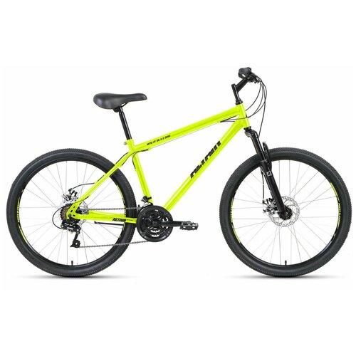 """Горный (MTB) велосипед ALTAIR MTB HT 26 2.0 Disc (2020) салатовый 19"""" (требует финальной сборки)"""