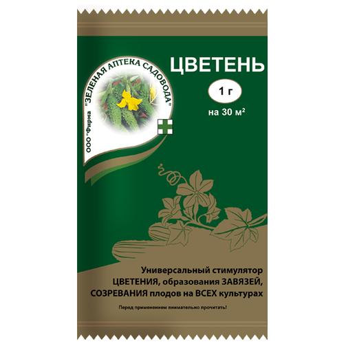 Удобрение Зеленая Аптека Садовода Цветень, 0.001 кг