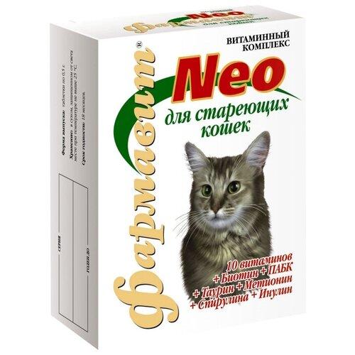 Витамины Фармавит Neo Витаминно-минеральный комплекс для кошек старше 8 лет 60 таб.