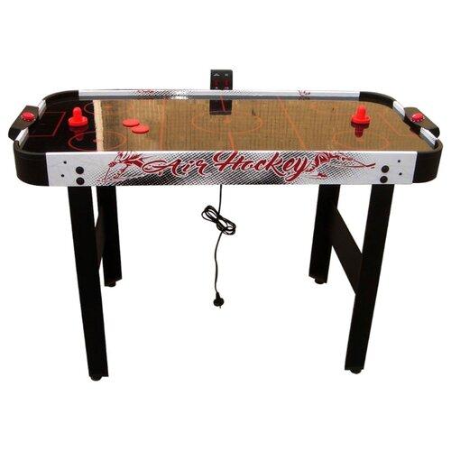 Фото - Игровой стол для аэрохоккея DFC Philadelphia GS-AT-5150 черный с рисунком игровой стол для аэрохоккея dfc baltimor ds at 09 красный черный