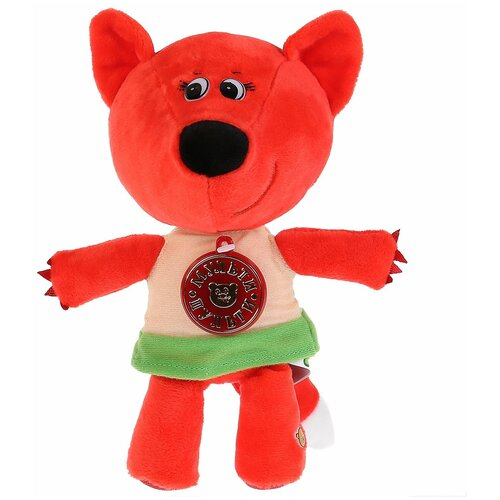 Фото - Мягкая игрушка Мульти-Пульти Ми-ми-мишки Лисичка с чипом 20 см мягкая игрушка мульти пульти ежик 20 см