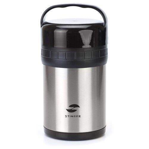 Термос для еды STINGER HR-1500-1, 1.5 л серебристый
