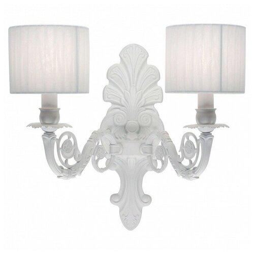 Настенный светильник Citilux Альба CL430321, E14, 120 Вт, кол-во ламп: 2 шт., цвет арматуры: белый, цвет плафона: белый настенный светильник citilux медея cl436321 120 вт