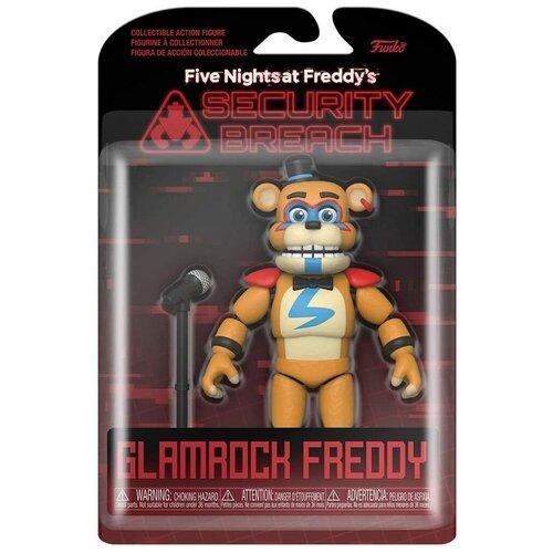 Подвижная фигурка Глэм Рок Фредди 5 ночей с Фредди ФНАФ (Five Nights at Freddy's Security Breach Glamrock Freddy)