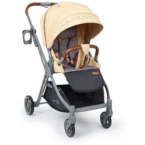 Прогулочная коляска Happy Baby Luna, sand happy baby коляска трость happy baby twiggy green