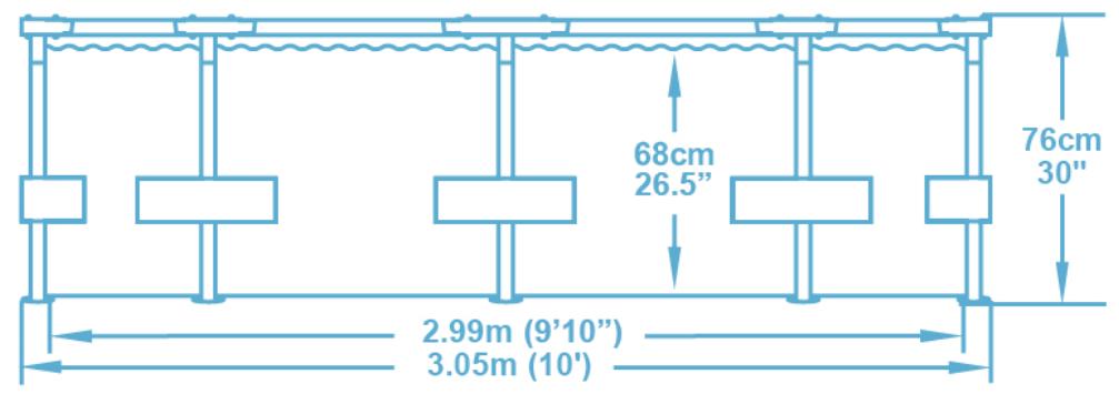 Бассейн Bestway Steel Pro MAX 56026/56406