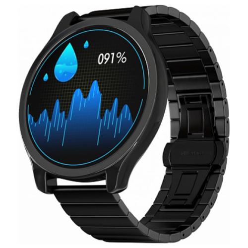 Умные часы GSMIN WP7 (stainless), черный