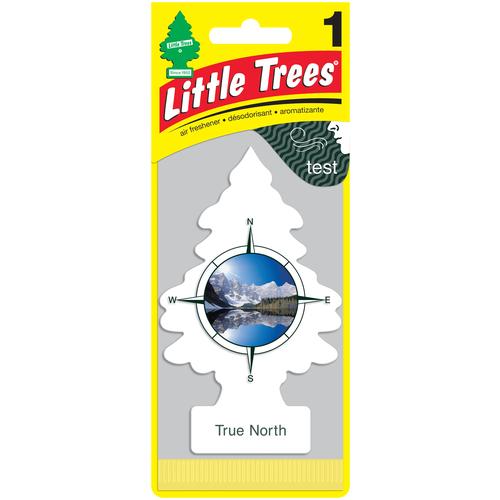 Little Trees Ароматизатор для автомобиля Ёлочка Сердце Севера (True North) 12 г little trees ароматизатор для автомобиля ёлочка не курить no smoking