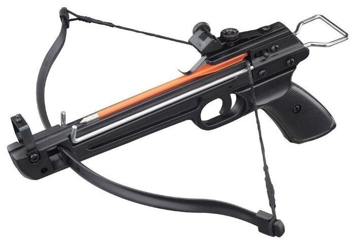Пистолетный арбалет Man Kung MK-50A2/5PL, 3 стрелы в комплекте
