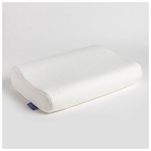 Подушка анатомическая VESTA текстиль Classic, с эффектом памяти, 33*52*9*11 см, джерси, ППУ, полиэстер 100%