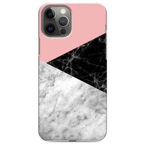 Дизайнерский пластиковый чехол для Iphone 12 Pro Мраморные тренды