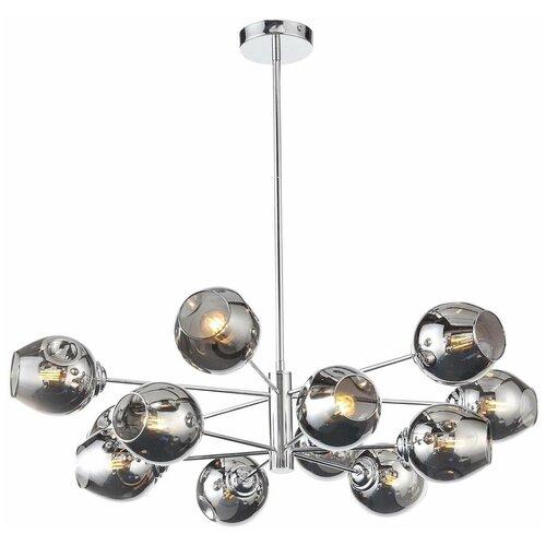 Люстра ST Luce Fovia SL1500.103.12, E14, 480 Вт, кол-во ламп: 12 шт., цвет арматуры: хром люстра подвесная st luce fovia sl1500 103 12