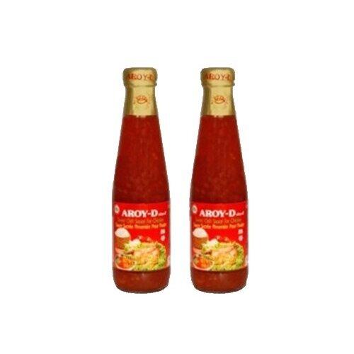Соус Aroy-D Sweet chilli for chicken (2 шт. по 350 г) сладкий соус чили для курицы aroy d 350 г