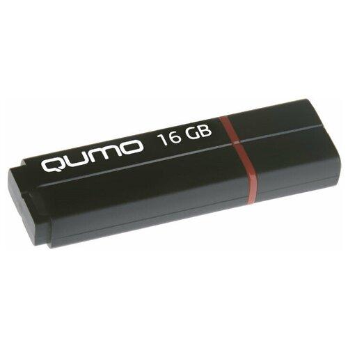 Фото - Флешка Qumo Speedster 16 GB, черный флешка usb 32gb qumo speedster usb3 0 черный qm32gud3 sp black