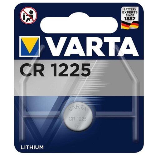 Фото - Батарейка VARTA CR1225, 1 шт. батарейка varta cr p2 1 шт
