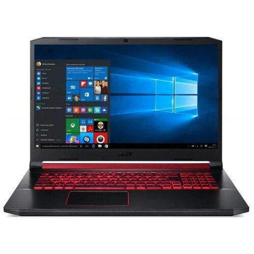 "Ноутбук Acer Nitro 5 AN517-52 (/17.3""/1920x1080) (/17.3""/1920x1080) (/17.3""/1920x1080)-52MS (Intel Core i5 10300H 2500MHz/17.3""/1920x1080/8GB/256GB SSD/1000GB HDD/NVIDIA GeForce GTX 1650 Ti 4GB/Windows 10 Home) NH.Q82ER.00C черный"