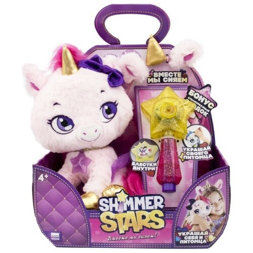 Мягкая игрушка Shimmer Stars единорог Твинкл 20 см