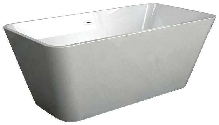 Ванна отдельностоящая Abber AB9212 акрил — купить по выгодной цене на Яндекс.Маркете