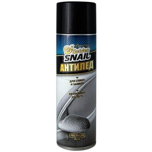 Автомобильная смазка Golden Snail размораживатель замков и стекол GS4103 0.65 л