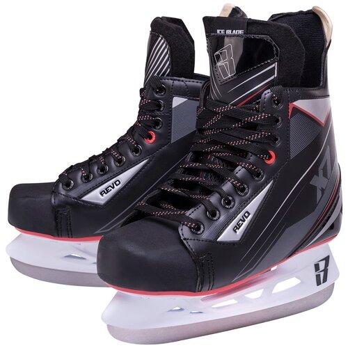 Хоккейные коньки ICE BLADE Revo X7.0 черный/красный р. 36