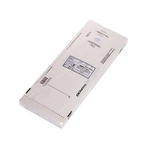 Пакет для стерилизации для стерилизованных инструментов DGM Пакеты для стерилизации 100x250, 100 шт. белый
