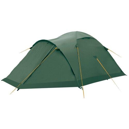 Палатка Btrace Talweg 3+ зеленый палатка tramp lite twister 3
