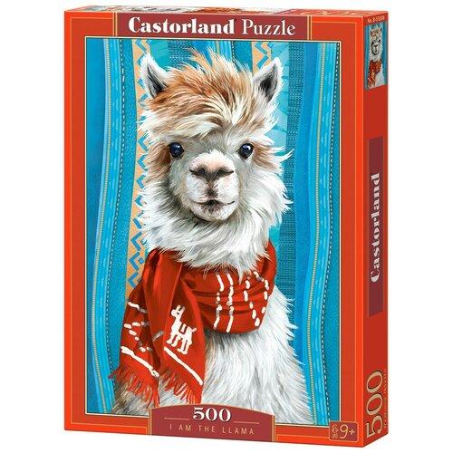 Фото - Пазл Castorland I Am The Llama (B-53308), 500 дет. пазл castorland лето в альпах b 53360 500 дет