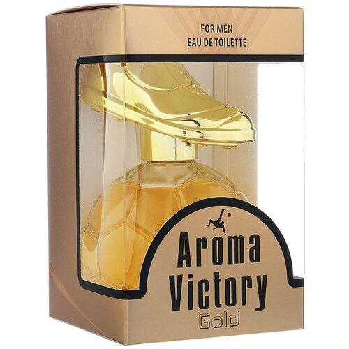 Туалетная вода Парфюмерия XXI века Aroma Victory Gold, 100 мл