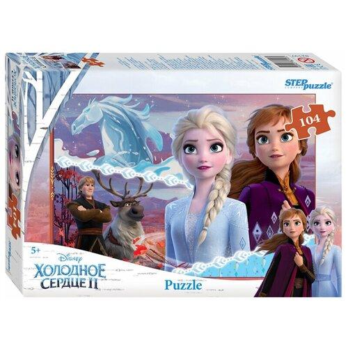 Купить Пазл Step puzzle Disney Холодное сердце - 2 (82197), 104 дет., Пазлы