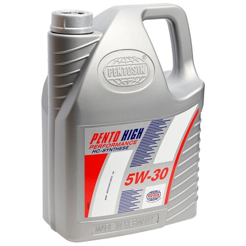 Полусинтетическое моторное масло Pentosin Pento High Performance 5W-30, 5 л