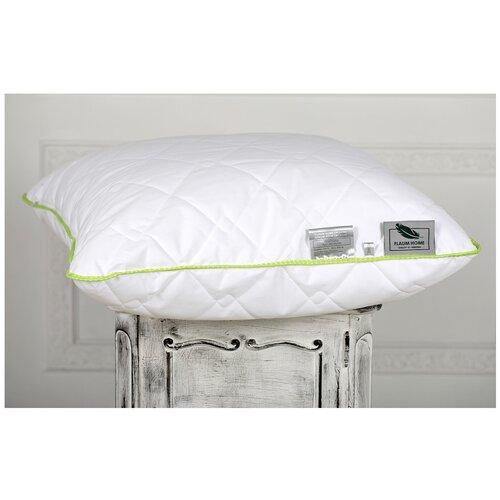 Подушка Flaum Home Organic 50 х 70 см белый/салатовый
