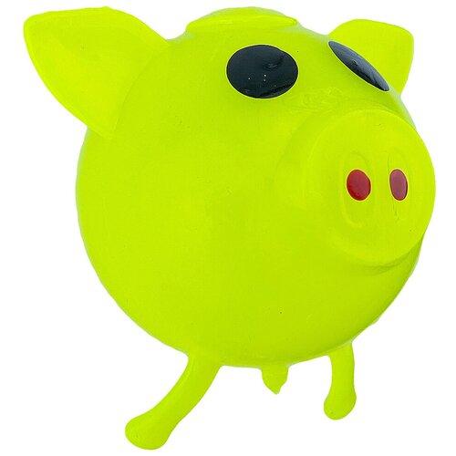 Игрушка-мялка Город Игр Хрюша салатовый