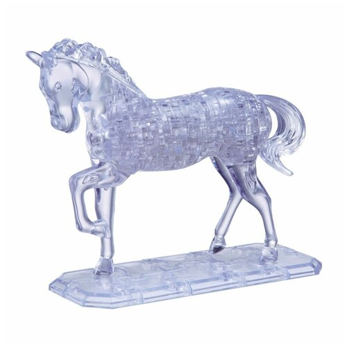 Фото - 3D-пазл Crystal Puzzle Конь (91001), 100 дет. 3d пазл crystal puzzle дельфин 91004 95 дет