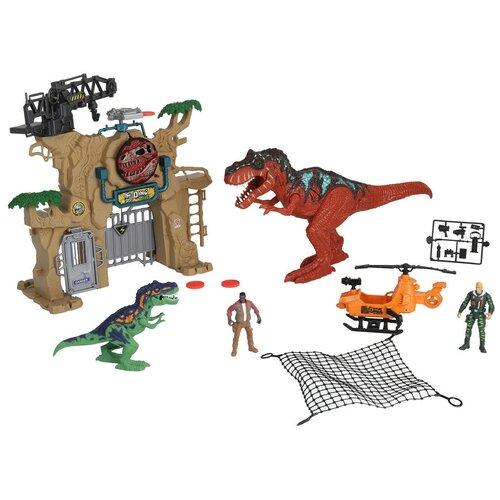 Игровой набор Chap Mei Охота на динозавров Штурм ворот 542092
