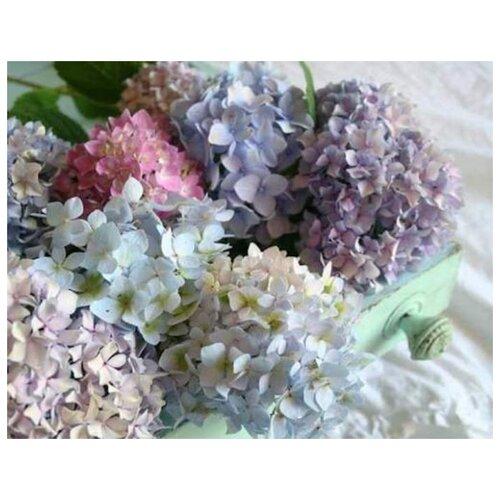 Купить Алмазная вышивка Яркие Грани Разноцветие , размер 50х39см, 56 цветов